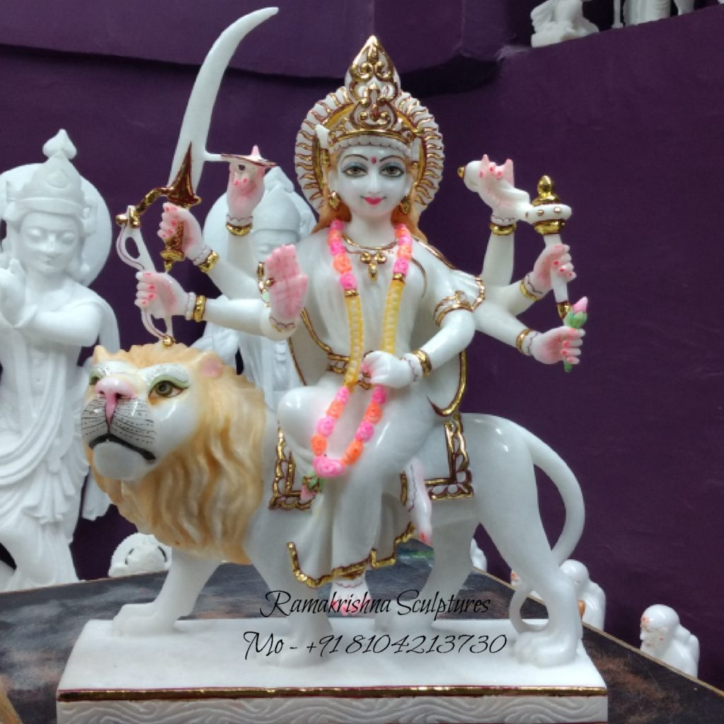 Small Durga Mata Statue