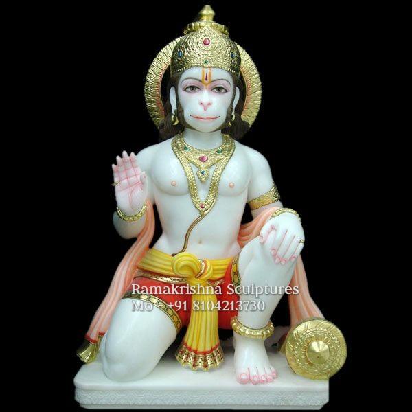 Seated Hanuman
