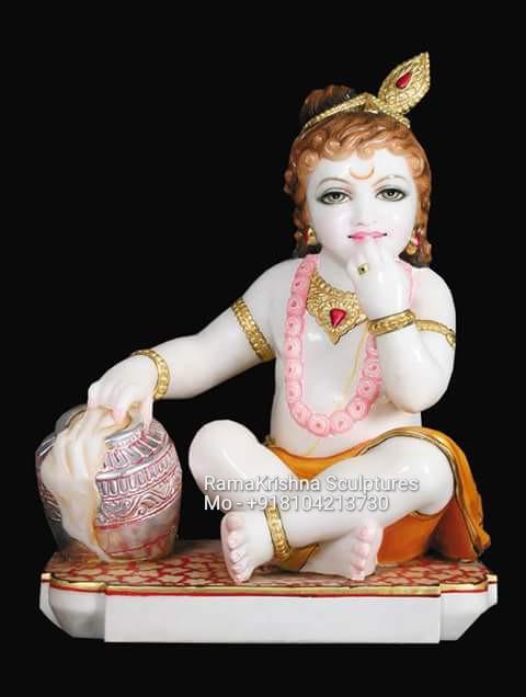 Bal gopal marble murti