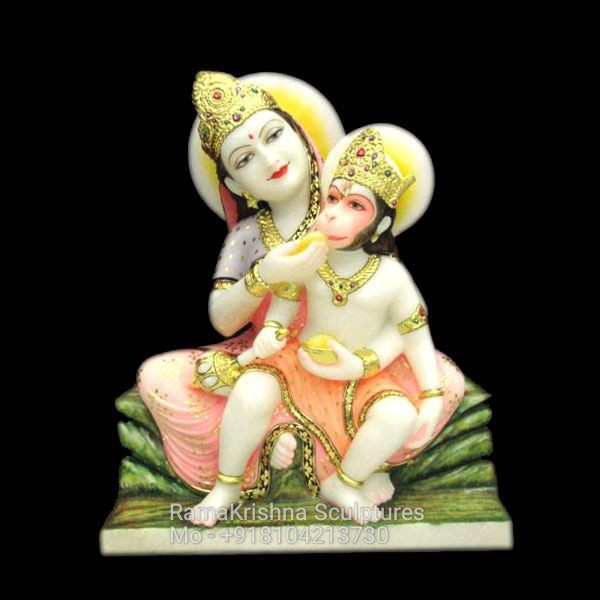 Anjani Maa with Hanuman Ji