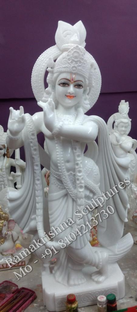 Lord Krishna Marble Statue Supplier In Jaipur Krishna Idols Online