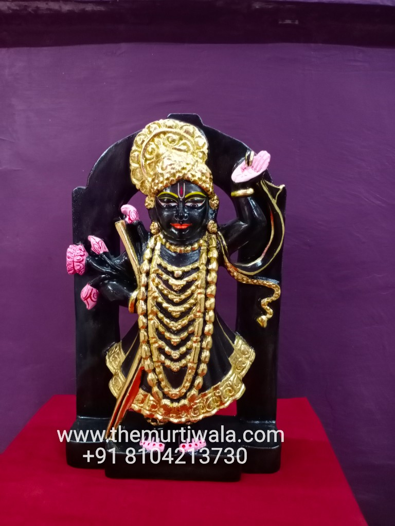 marble shrinath ji statue