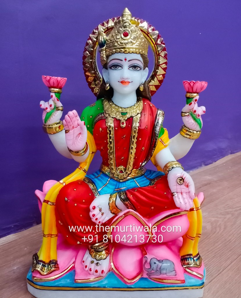 marble lakshmi idol online
