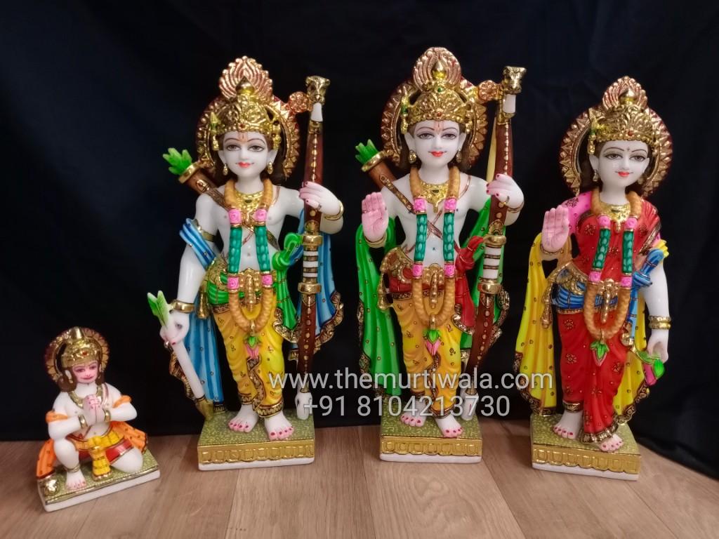 beautiful ram darbar idols for home