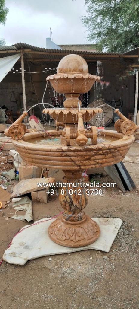 marble water fountain for garden