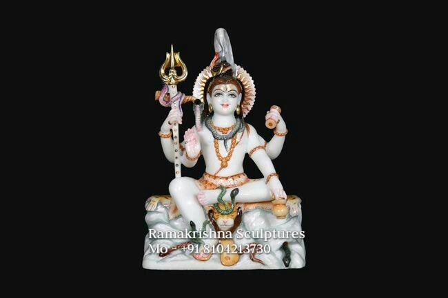 Shiva idol marble