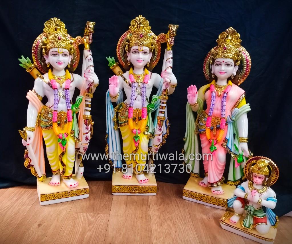 beautiful ram darbar idol in 2ft