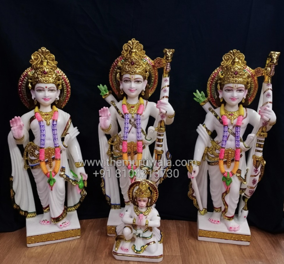 3ft Ram Darbar statue